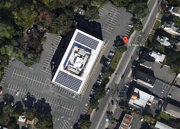 Parking at 80 Main St., West Orange, NJ